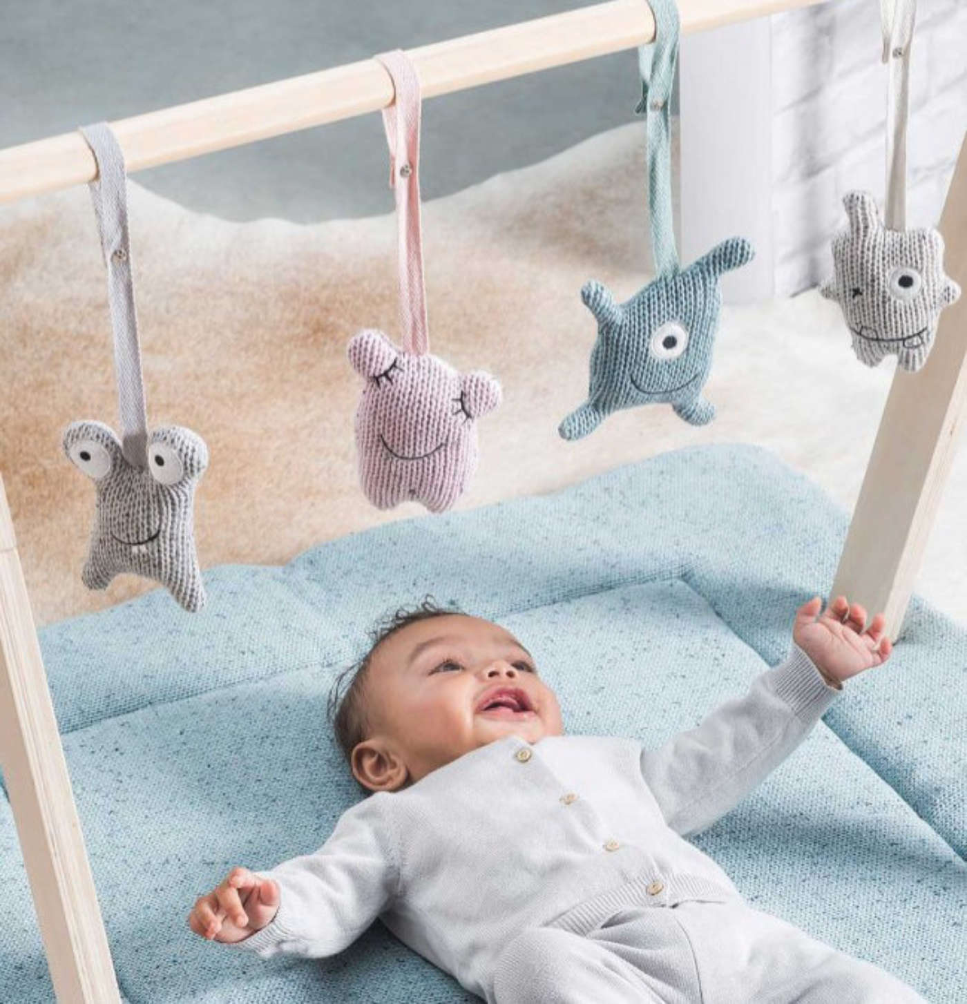 Babygym monsters vierkant
