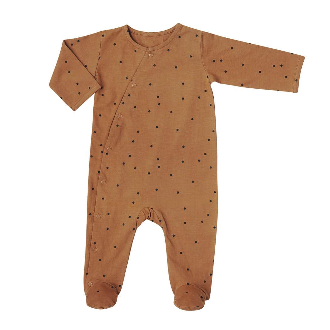 Babysuit dots nut web