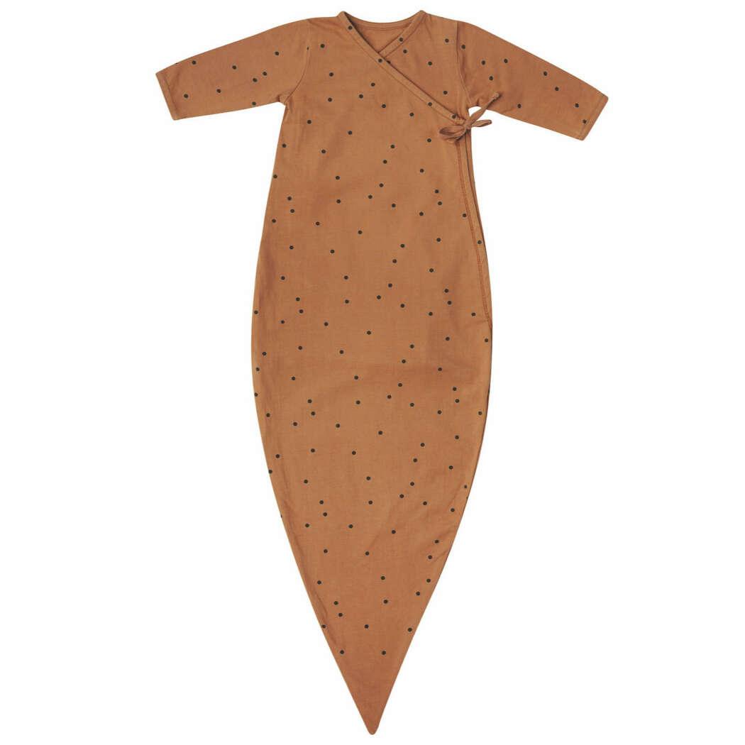Kimono vierkant dots nut voor shop
