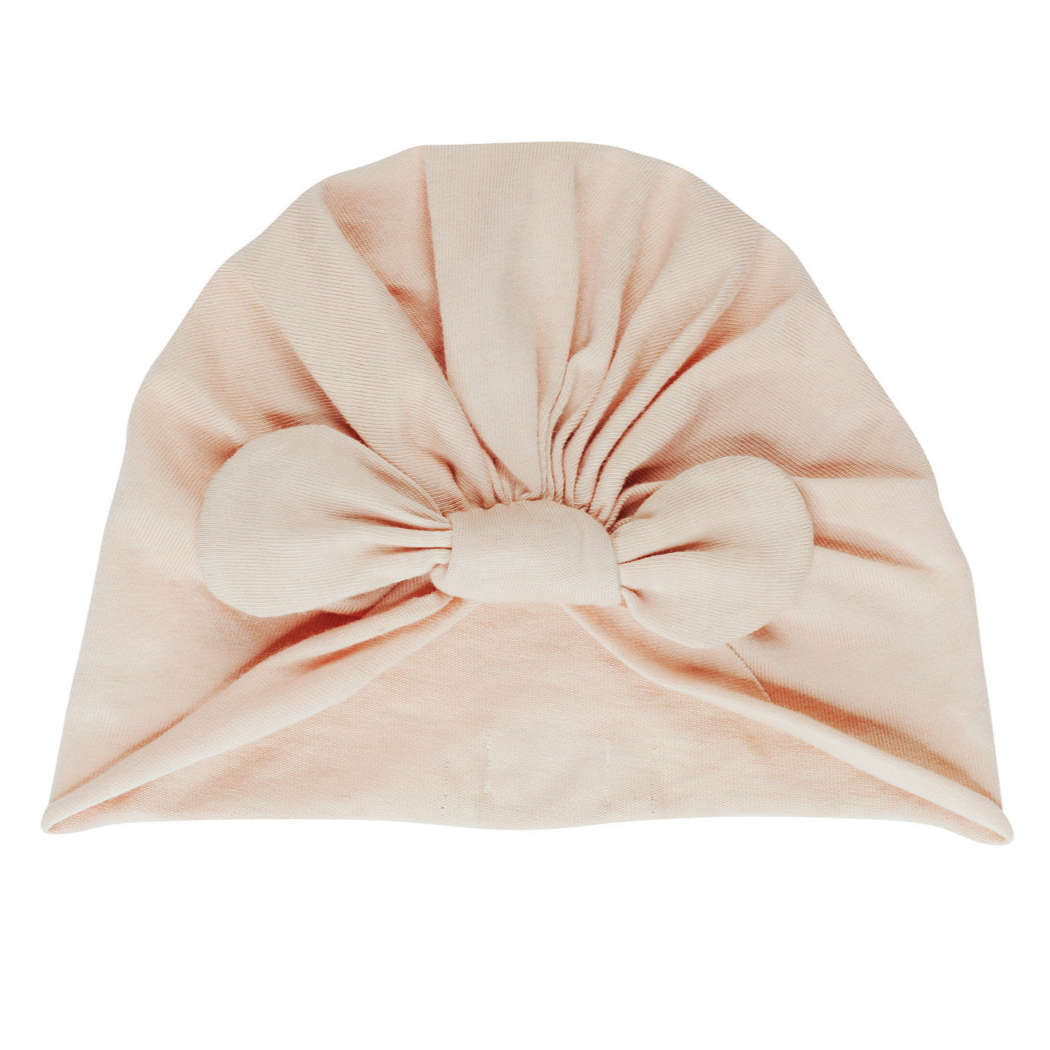 Knot beanie nude web vierkant