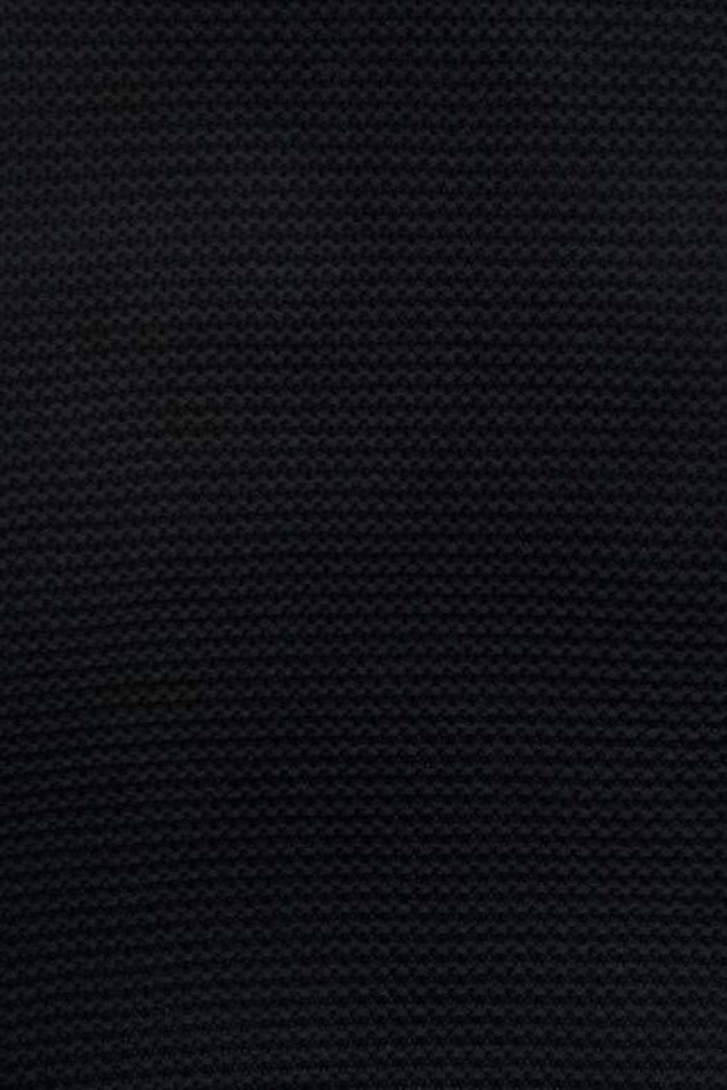 Deken_75x100cm_Heavy_knit_black_Detailfoto