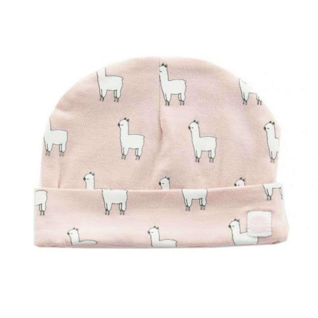 Babymuts lama pink