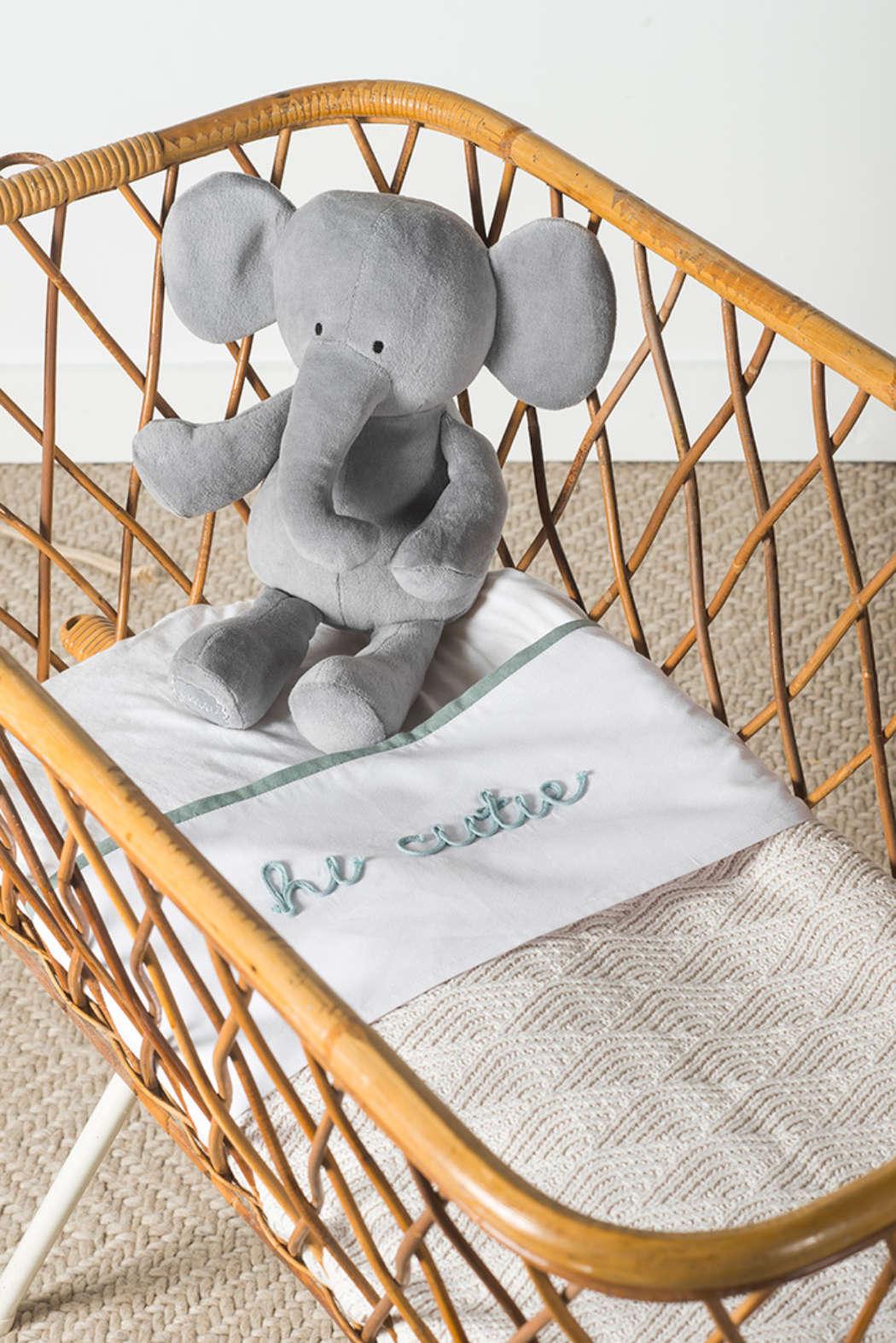 Knuffel Elephant storm grey 1