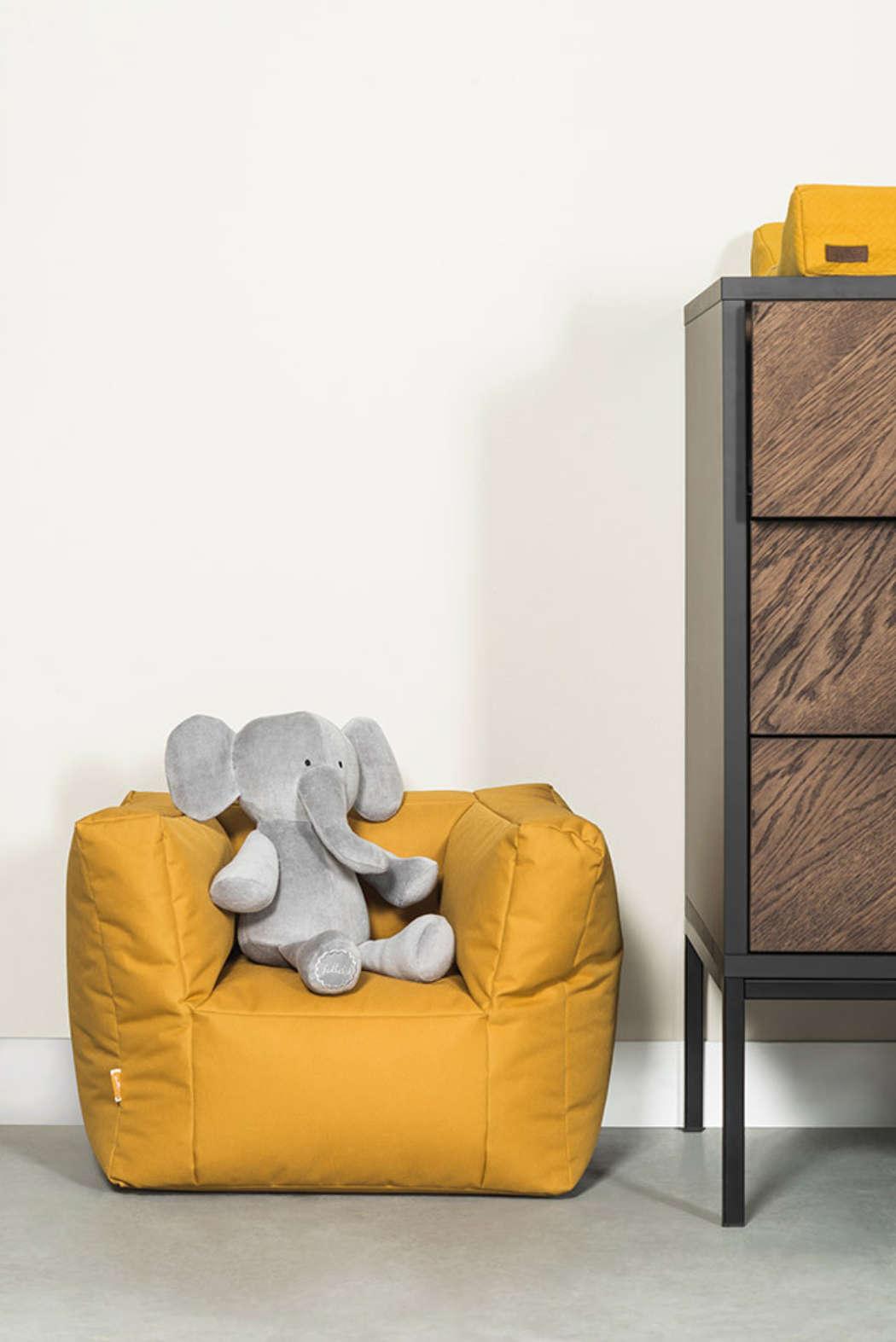 Knuffel Elephant storm grey 2