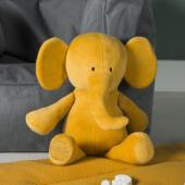 Knuffel Elephant mustard 1