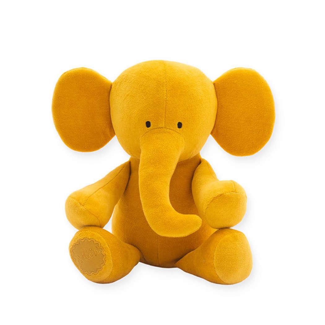 Knuffel Elephant mustard