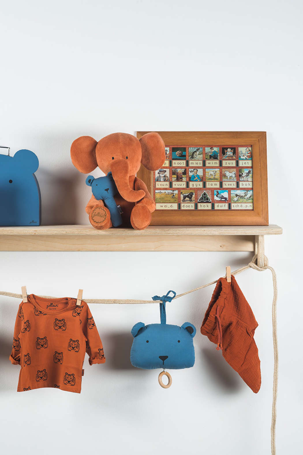 Knuffel Elephant rust 2