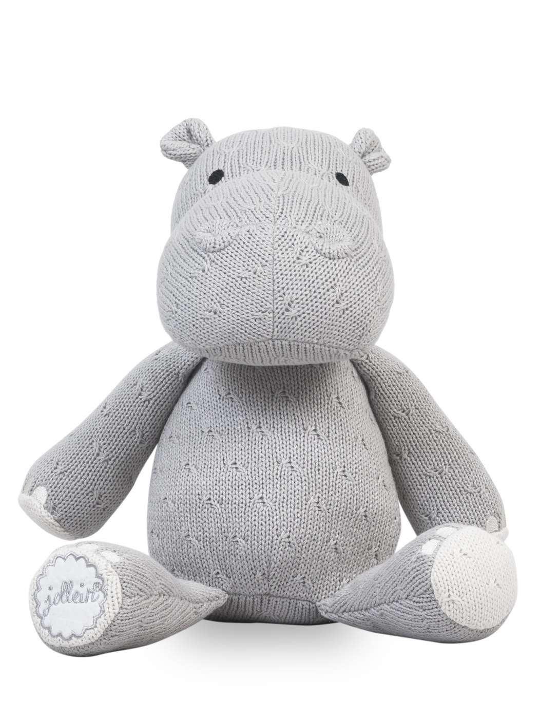 Knuffel_Soft_knit_hippo_light_grey
