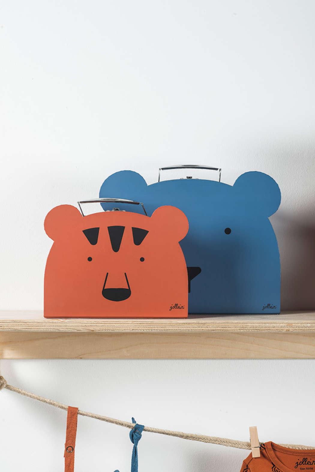 Koffer animal blue 2
