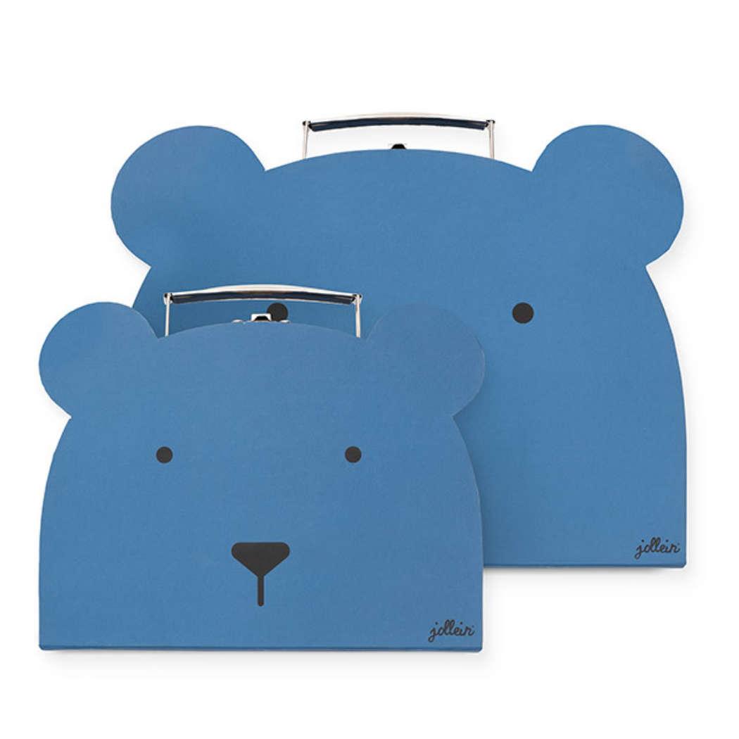 Koffer animal blue