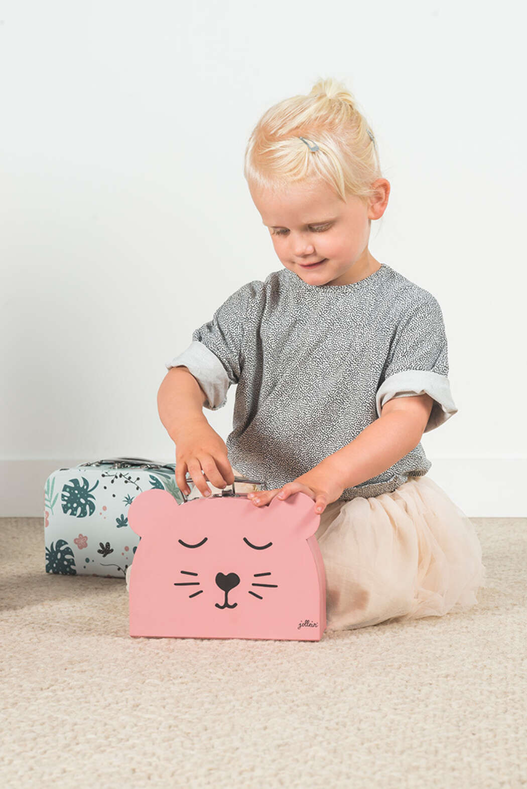 Koffer Animal Pink 3