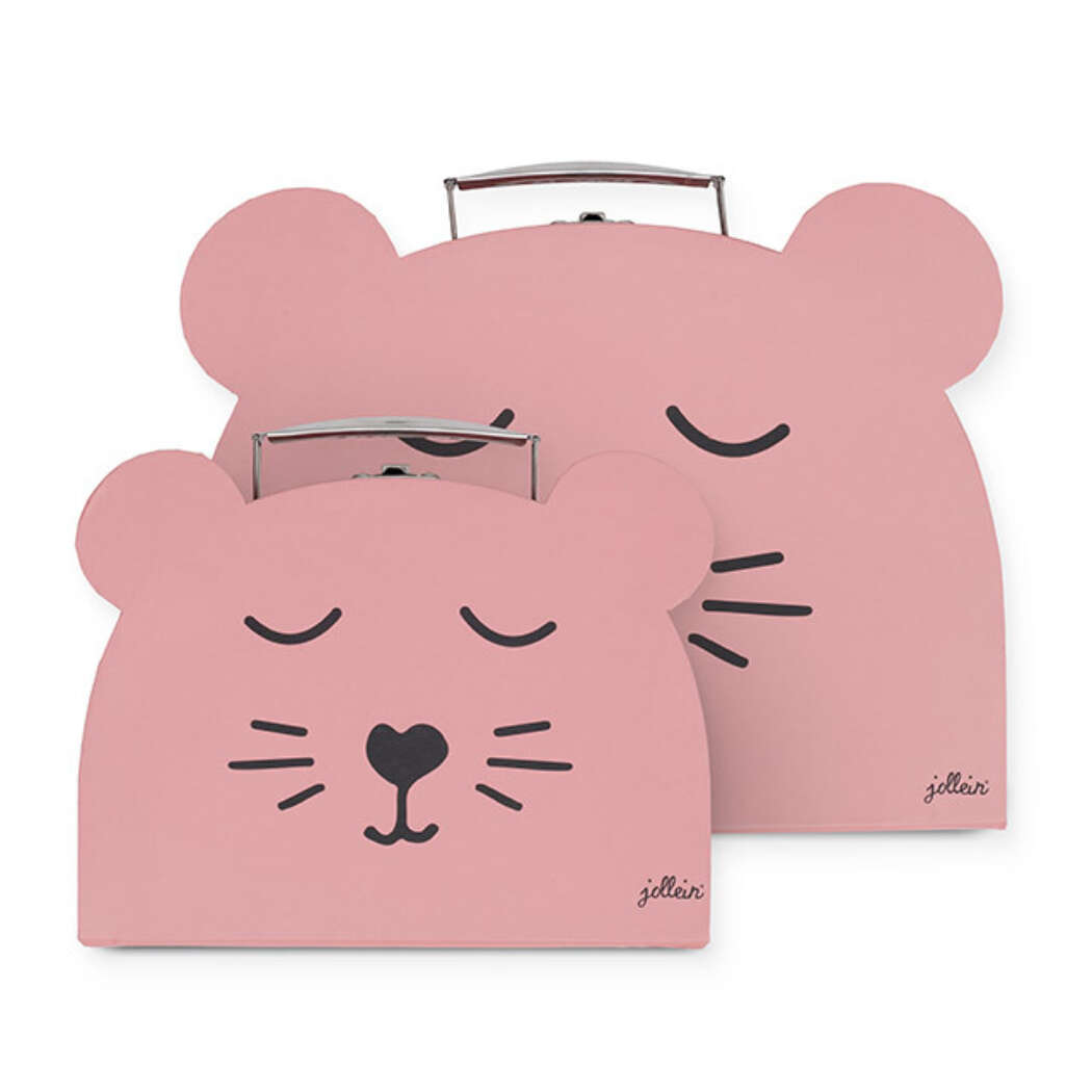 Koffer Animal Pink