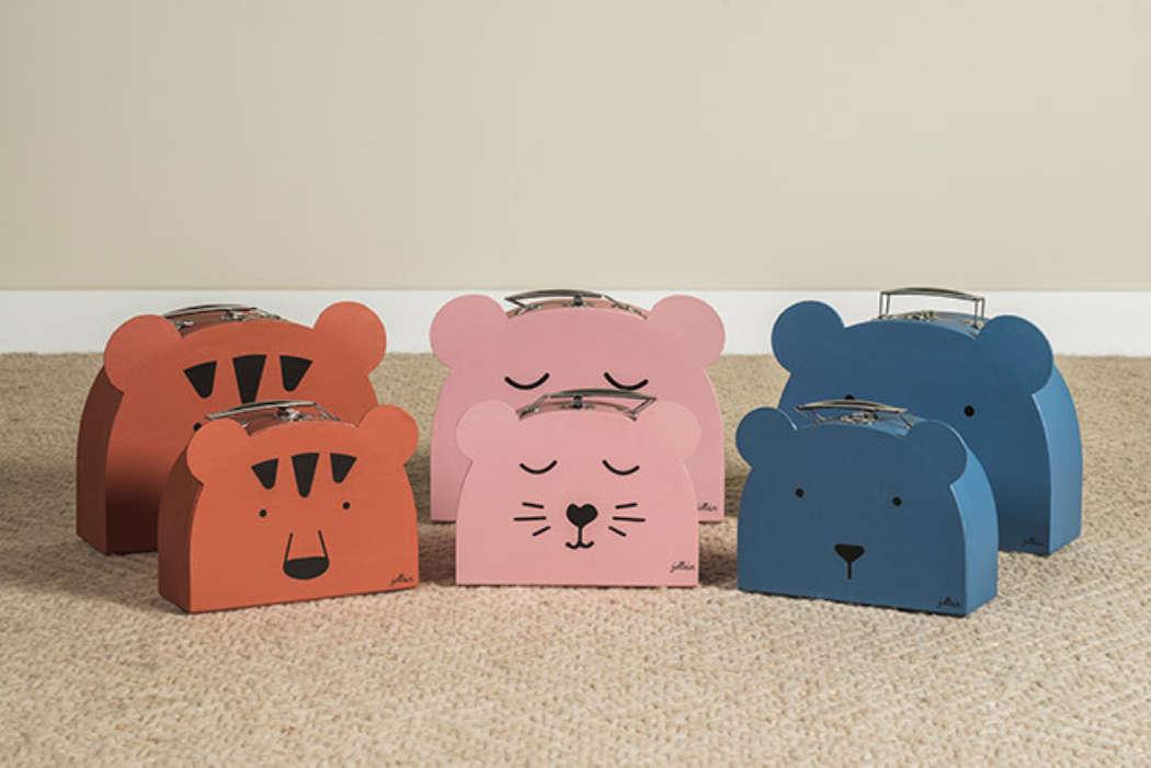 Koffer Animal Pink 4