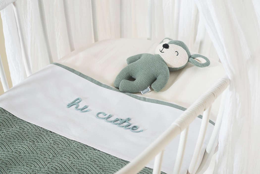 Laken Hi cutie ash green 3