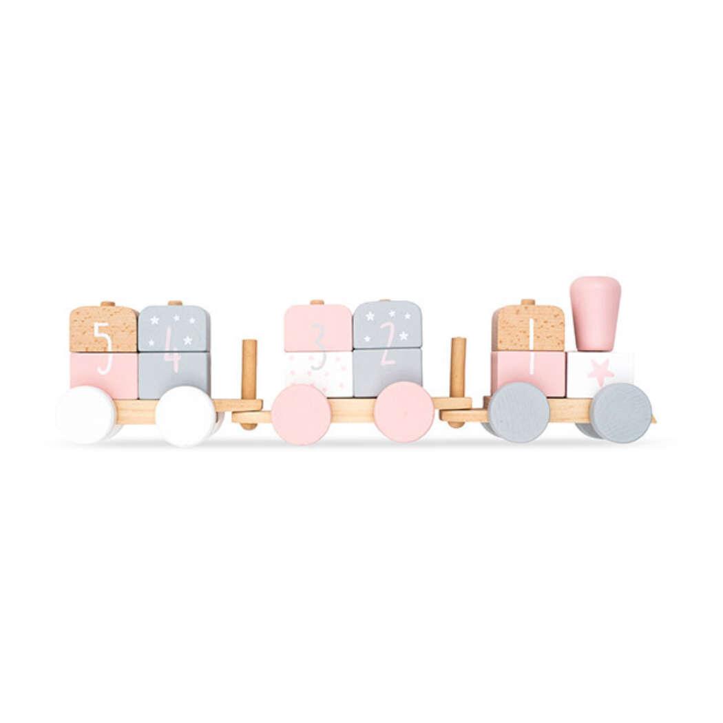 Speelgoedtrein roze