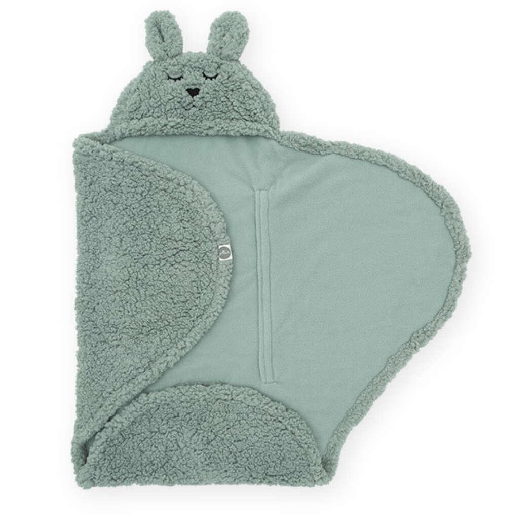 Wikkeldeken Bunny Ash Green2