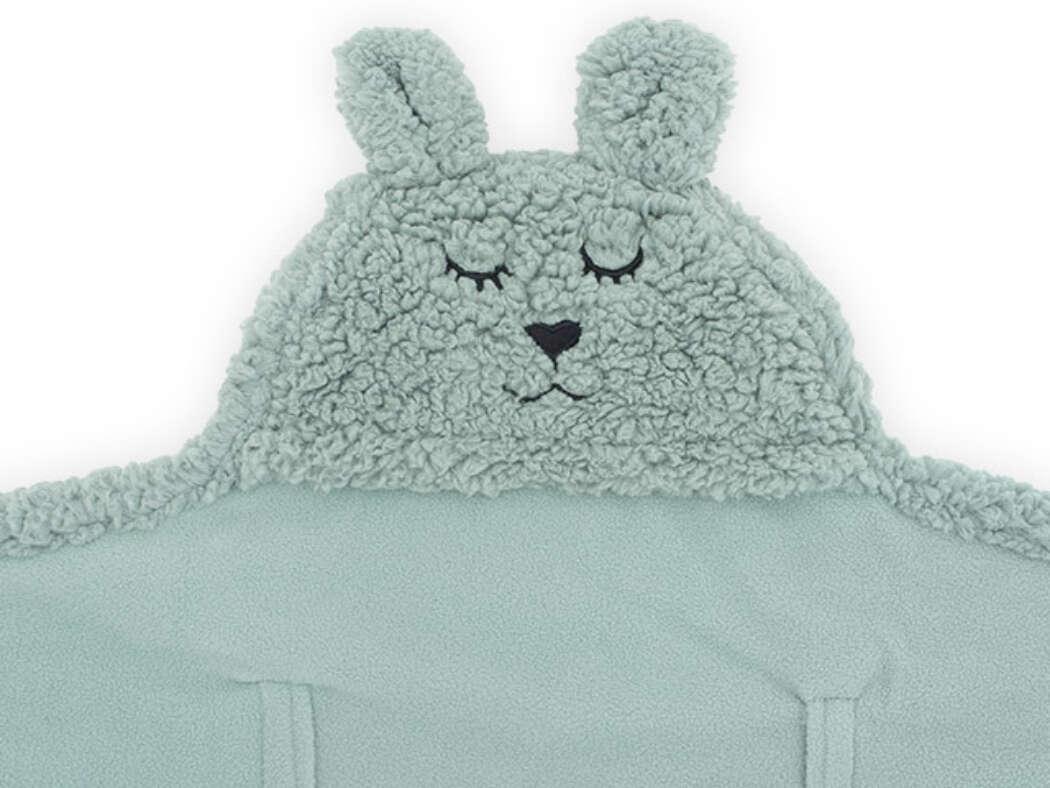 Wikkeldeken Bunny Ash Green3