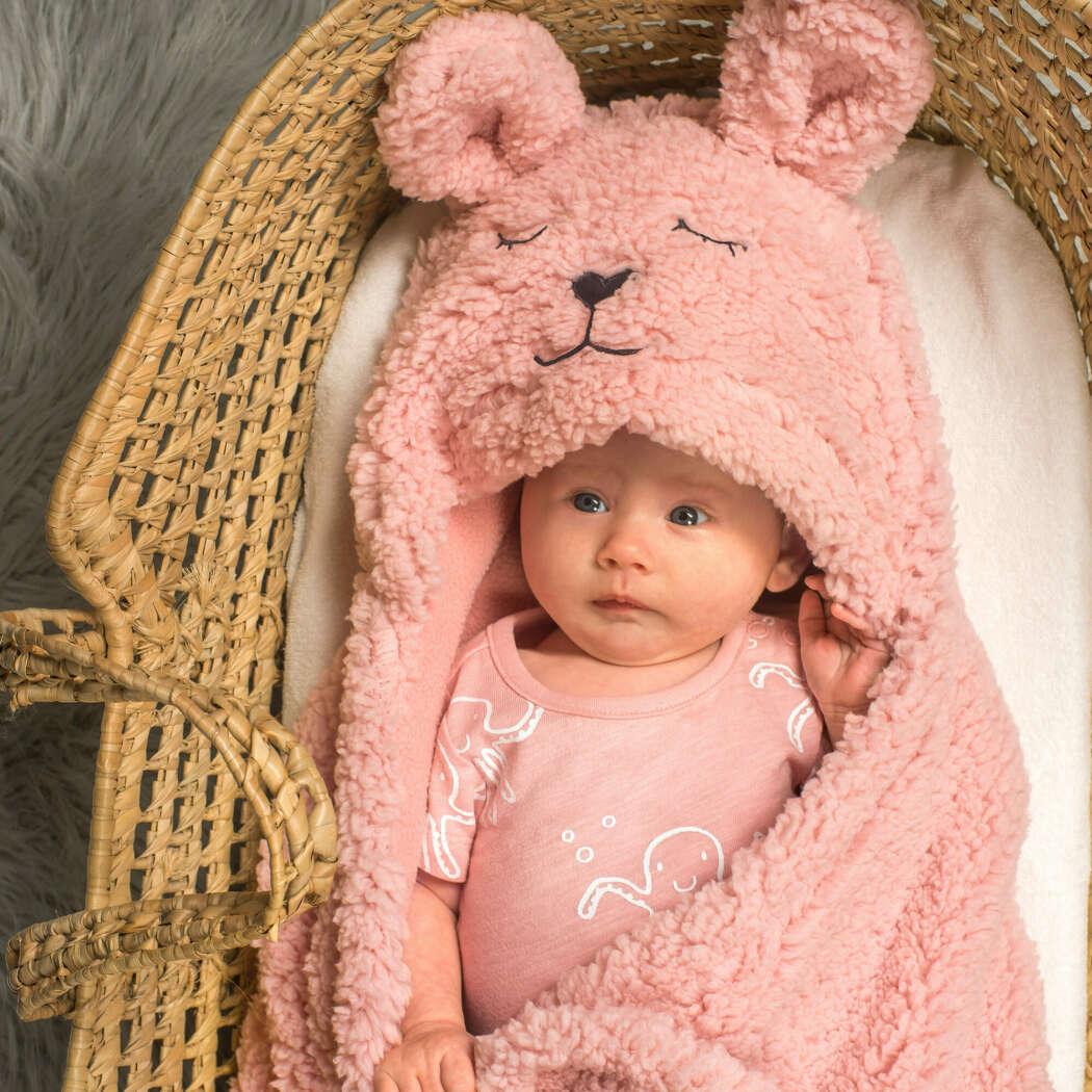 Wikkeldeken bunny pink3
