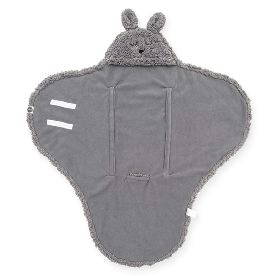 Wikkeldeken bunny grey