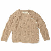 KS2143 MATHEO WRAP CABLE CARDIGAN MOONLIGHT Main
