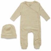 KS2219 DIO NEWBORN SET DEUX DIJON STRIPE Main