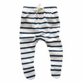 Breton stripes footed organic zoo vierkant