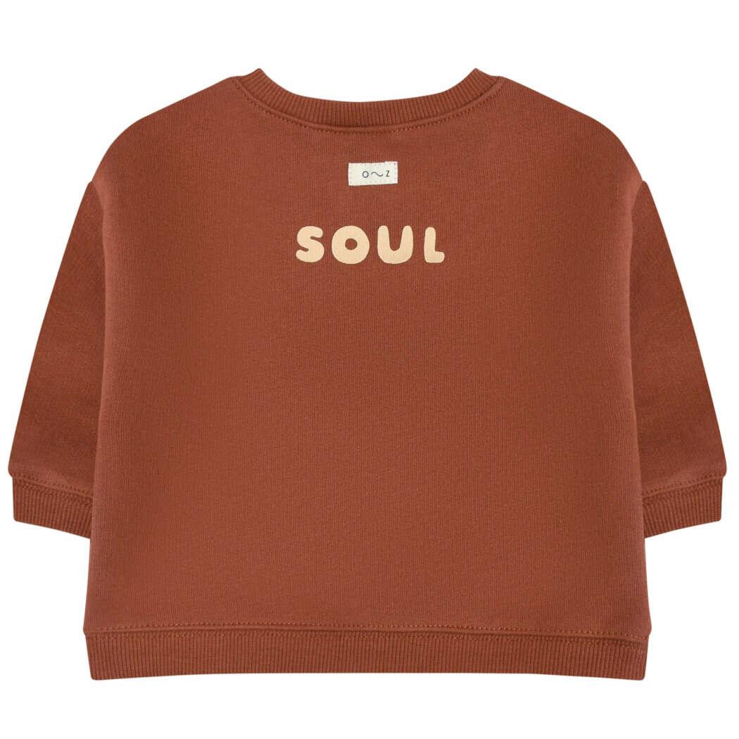 Organic Zoo DEBSHS Heart Soul Sweatshirt Back White