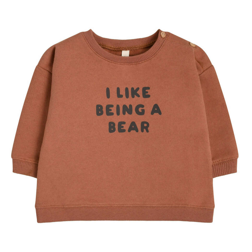 I Like Being A Bear Sweatshirt lichter