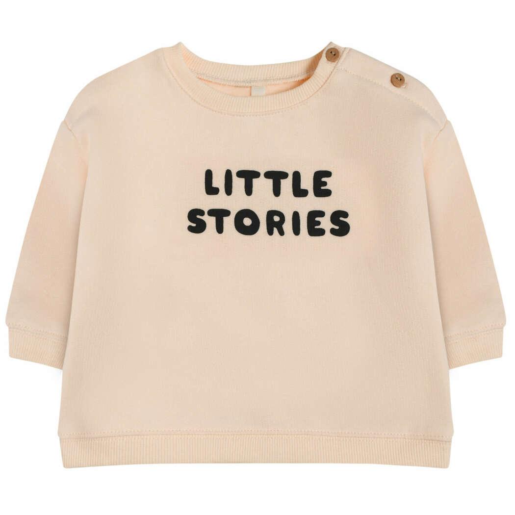 Organic Zoo SBSLS Little Stories Sweatshirt Front White