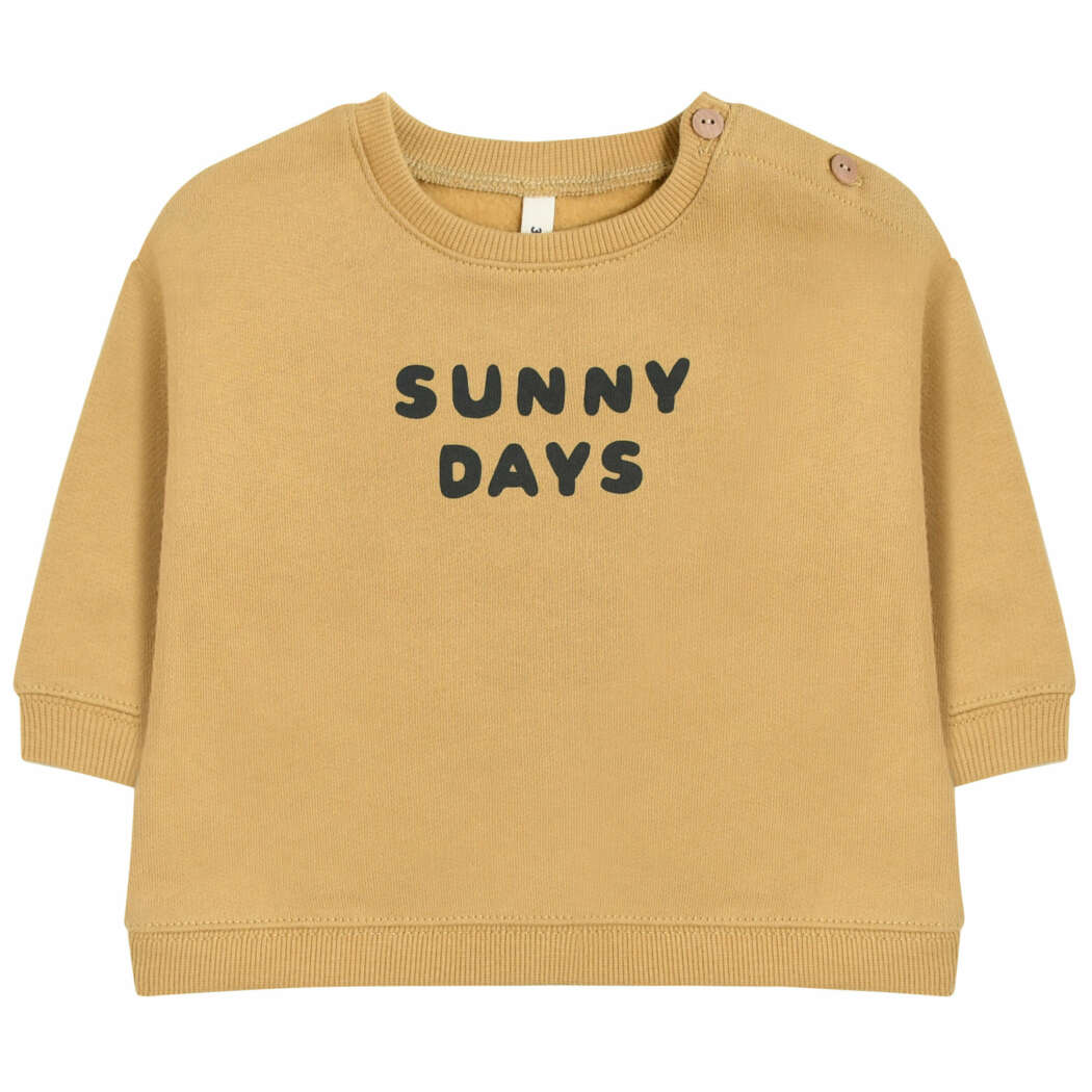 Organic Zoo LBSSD Sunny Days Sweatshirt Front White