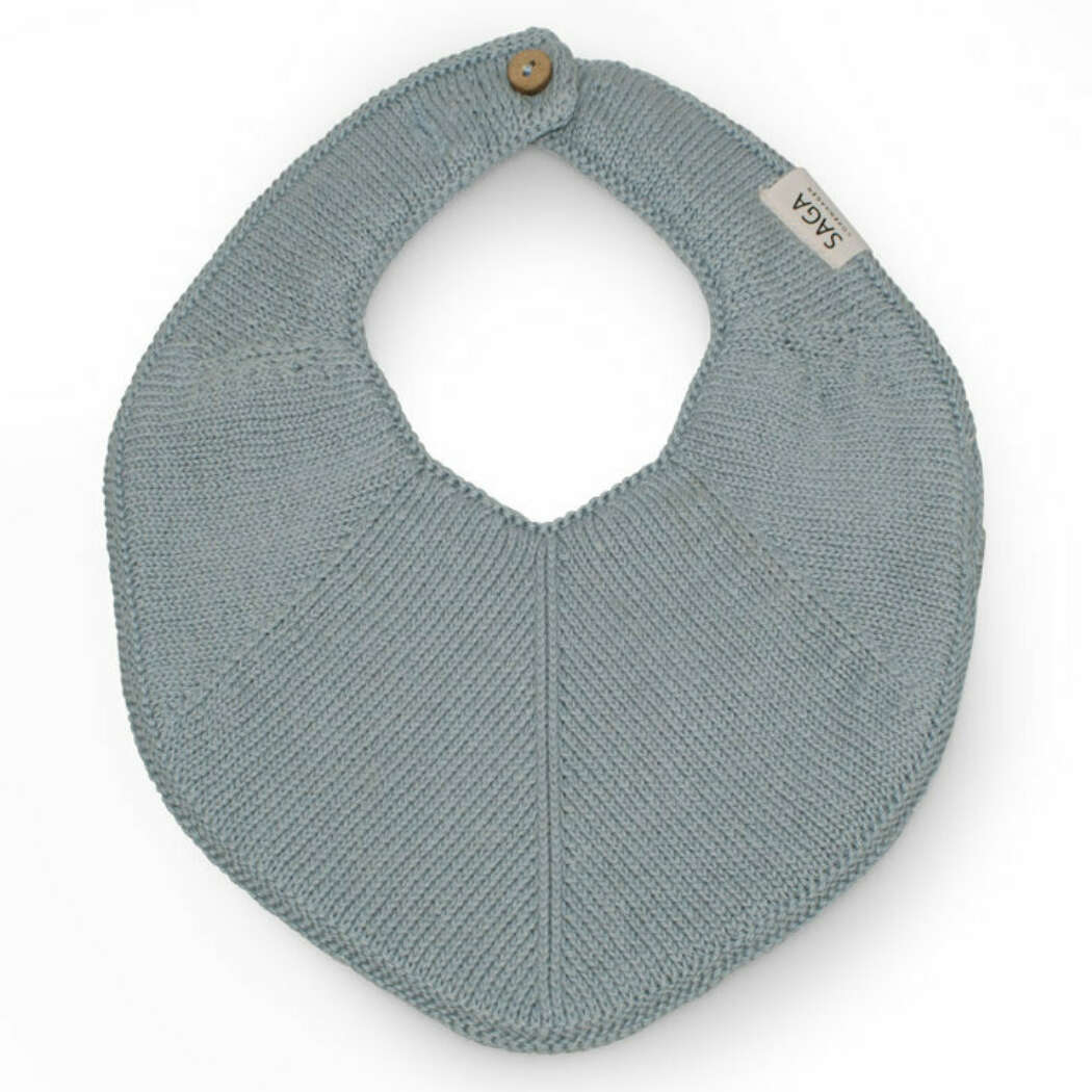 1400 Saga Fjola Knitted Bib Light Blue web