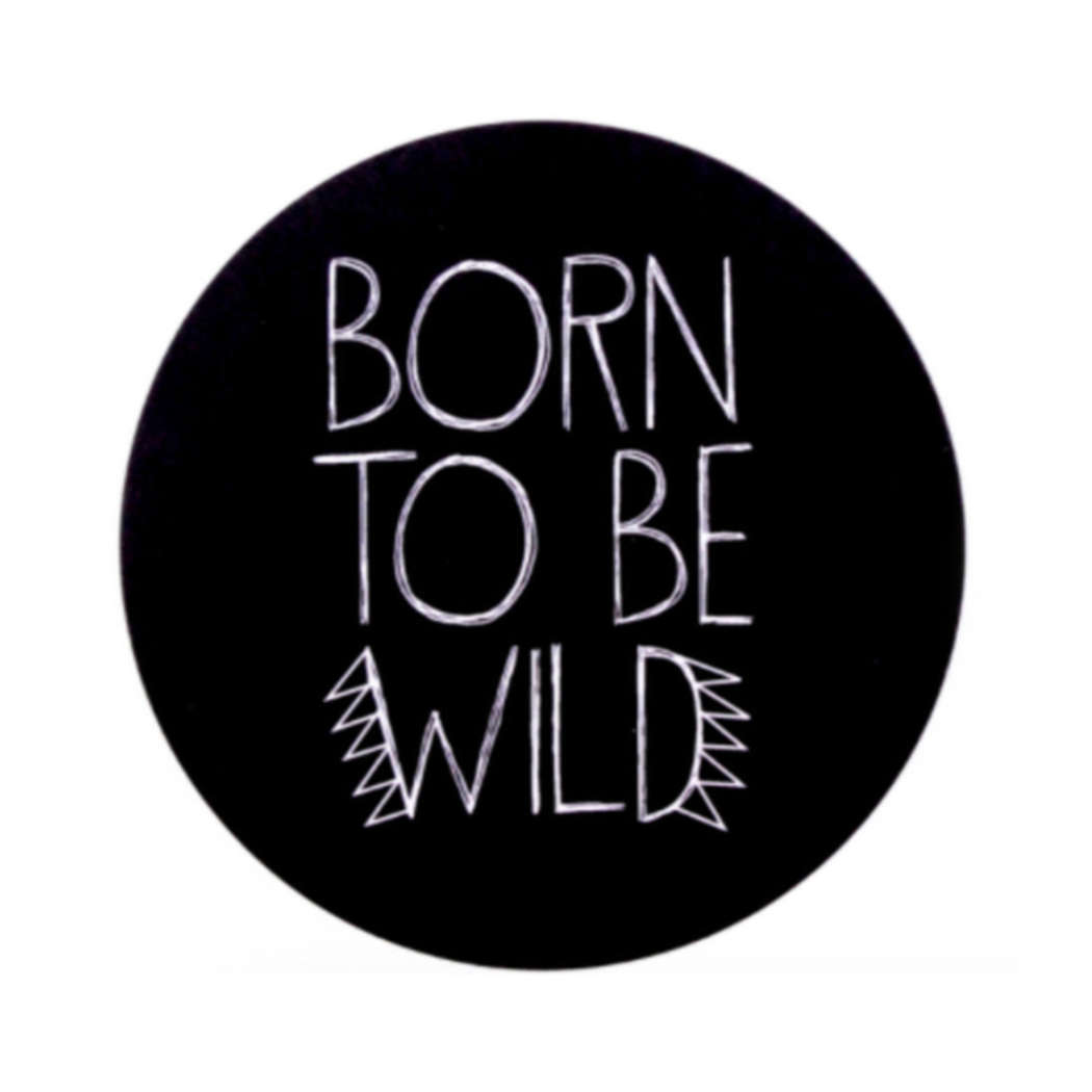 Sticker born to be wild 2