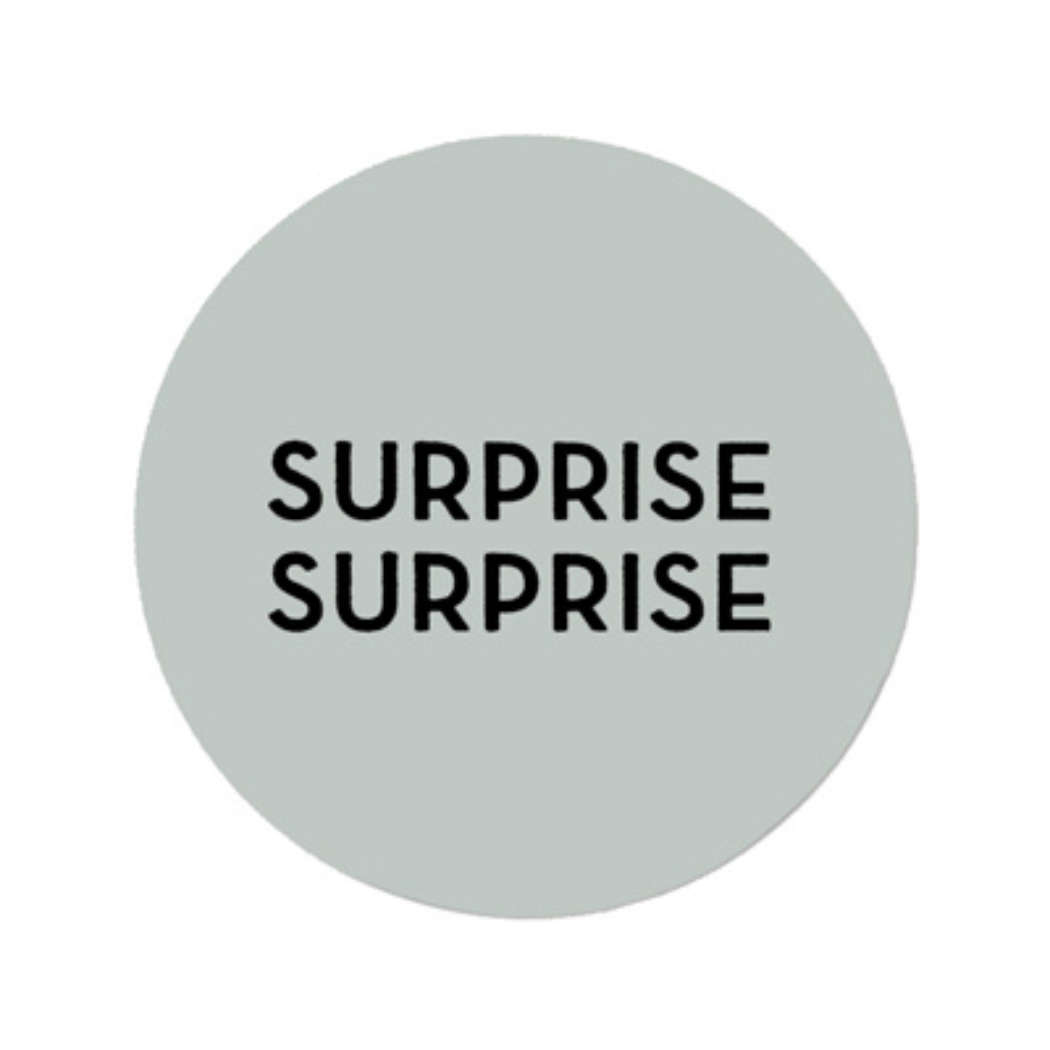 Sticker surprise surprise